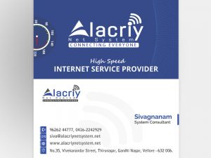 Business Card Alacriy Net