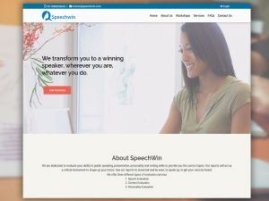 Web Design Speechwin