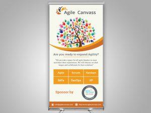 Agilecanvass Standee Design1